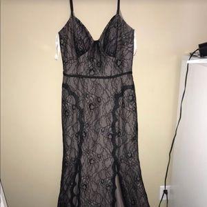 Zac Posen Black lace dress
